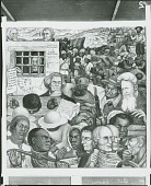 view Portrait of America: The Conflict Over Slavery [fresco] / (photographed by Peter A. Juley & Son) digital asset number 1