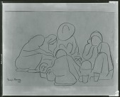 view Indian Family [drawing] / (photographed by Peter A. Juley & Son) digital asset number 1
