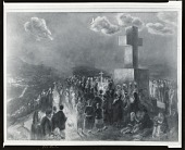view Procession of the Cross of the Martyrs [painting] / (photographed by Peter A. Juley & Son) digital asset number 1