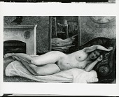 view Reclining Nude with Reflections [painting] / (photographed by Peter A. Juley & Son) digital asset number 1