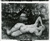view Nude, Bearsville [painting] / (photographed by Peter A. Juley & Son) digital asset number 1