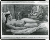 view Interior with Nude (Isabel) [painting] / (photographed by Peter A. Juley & Son) digital asset number 1