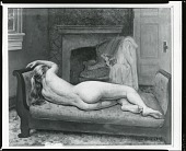 view Woman Resting [painting] / (photographed by Peter A. Juley & Son) digital asset number 1