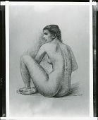 view Seated Nude [art work] / (photographed by Peter A. Juley & Son) digital asset number 1