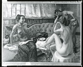 view Dancers in Repose [painting] / (photographed by Peter A. Juley & Son) digital asset number 1