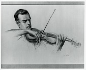 view William Kroll, Violinist [drawing] / (photographed by Peter A. Juley & Son) digital asset number 1