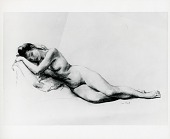 view Reclining Nude [art work] / (photographed by Peter A. Juley & Son) digital asset number 1