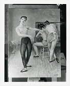 view Group of Dancers [painting] / (photographed by Peter A. Juley & Son) digital asset number 1