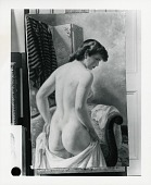 view Nude Back [painting] / (photographed by Peter A. Juley & Son) digital asset number 1