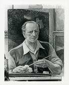 view Self Portrait in the Studio [painting] / (photographed by Peter A. Juley & Son) digital asset number 1