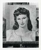 view Female Bust [painting] / (photographed by Peter A. Juley & Son) digital asset number 1