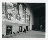 view Worcester Memorial Auditorium Mural, Main Wall [painting] / (photographed by Peter A. Juley & Son) digital asset number 1