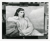view My Model [painting] / (photographed by Peter A. Juley & Son) digital asset number 1
