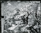 view Rondout, Spring [painting] / (photographed by Peter A. Juley & Son) digital asset number 1