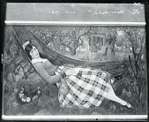 view Girl in Hammock [painting] / (photographed by Peter A. Juley & Son) digital asset number 1