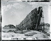 view Building of the Ship [painting] / (photographed by Peter A. Juley & Son) digital asset number 1