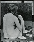 view Seated Nude [painting] / (photographed by Peter A. Juley & Son) digital asset number 1