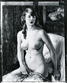 view Red Head, Semi-Nude [painting] / (photographed by Peter A. Juley & Son) digital asset number 1