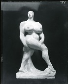 view Striding Woman [sculpture] / (photographed by Peter A. Juley & Son) digital asset number 1