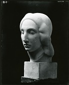 view Head of a Woman (Egyptian Head) [sculpture] / (photographed by Peter A. Juley & Son) digital asset number 1