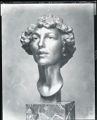 view Portrait of Katherine Warren [sculpture] / (photographed by Peter A. Juley & Son) digital asset number 1