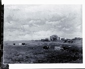 view Cattle in a Pasture [painting] / (photographed by Peter A. Juley & Son) digital asset number 1