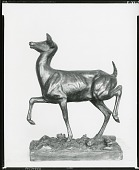 view Doe Startled [sculpture] / (photographed by Peter A. Juley & Son) digital asset number 1