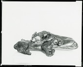 view Tigers Sleeping [sculpture] / (photographed by Peter A. Juley & Son) digital asset number 1