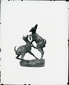 view Fawns Playing [sculpture] / (photographed by Peter A. Juley & Son) digital asset number 1