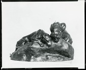 view Tigers Watching [sculpture] / (photographed by Peter A. Juley & Son) digital asset number 1