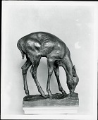 view Fawn [sculpture] / (photographed by Peter A. Juley & Son) digital asset number 1