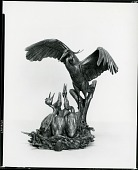 view Crane and Young [sculpture] / (photographed by Peter A. Juley & Son) digital asset number 1