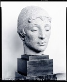 view Unknown Lady [sculpture] / (photographed by Peter A. Juley & Son) digital asset number 1