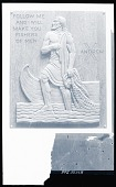 view St. Andrew [sculpture] / (photographed by Peter A. Juley & Son) digital asset number 1
