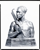 view Hall of Man Series: Samoan Warrior [sculpture] / (photographed by Peter A. Juley & Son) digital asset number 1