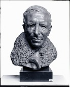 view Pere Teilhard de Chardin [sculpture] / (photographed by Peter A. Juley & Son) digital asset number 1