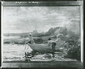 view Boys in a Dory [painting] / (photographed by Peter A. Juley & Son) digital asset number 1