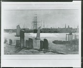 view View of Gloucester [painting] / (photographed by Peter A. Juley & Son) digital asset number 1