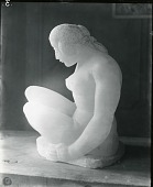 view Seated Female Nude [sculpture] / (photographed by Peter A. Juley & Son) digital asset number 1