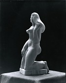 view Kneeling Figure [sculpture] / (photographed by Peter A. Juley & Son) digital asset number 1