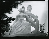 """view Model for """"Spanning the Continent"""" [sculpture] / (photographed by Peter A. Juley & Son) digital asset number 1"""