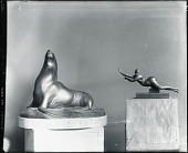 view Sea Lion and Nude Acrobat [sculpture] / (photographed by Peter A. Juley & Son) digital asset number 1