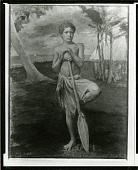 view The Boy Sopo, Samoa [painting] / (photographed by Peter A. Juley & Son) digital asset number 1