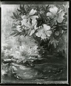 view Wild Roses and Water Lily [painting] / (photographed by Peter A. Juley & Son) digital asset number 1
