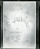 view Floor plan for Residence of Mark C. Steinberg (St. Louis, MO) [drawing] / (photographed by Peter A. Juley & Son) digital asset number 1