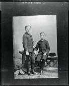 view Portrait of Two Young Boys, possibly from Lindeberg family? [photograph] / (photographed by Peter A. Juley & Son) digital asset number 1