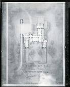 view Floor plan for Residence of M. M. Van Beuren (Middletown, RI) [photograph] / (photographed by Peter A. Juley & Son) digital asset number 1
