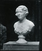 view Portrait of a Young Woman (Martha Sherwin?) [sculpture] / (photographed by Peter A. Juley & Son) digital asset number 1