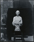 view Phoebe Cary Brisbane [sculpture] / (photographed by Peter A. Juley & Son) digital asset number 1