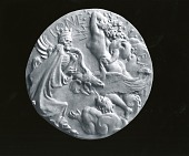 view Charles A. Lindbergh Medal (reverse) [sculpture] / (photographed by Peter A. Juley & Son) digital asset number 1